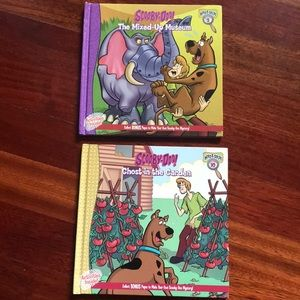 Two hardcover Scooby-Do books